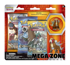 Legendary Beasts Collectors Pin 3 Pack Entei