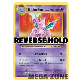 Nidorino - 44/108 - Uncommon - Reverse Holo