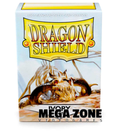 Dragon Shield 100 Standard Matte Sleeves - Ivory