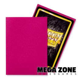 Dragon Shield 100 Standard Matte Sleeves - Magenta