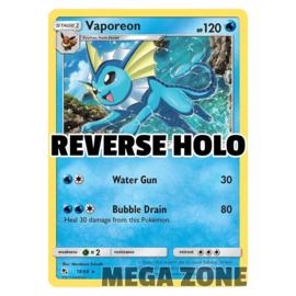 Vaporeon - 18/68 - Holo Rare - Reverse Holo
