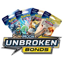 Sleeved Booster Pack SM10 Sun & Moon Unbroken Bonds