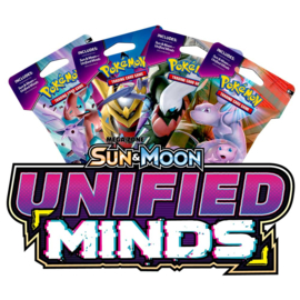 Sleeved Booster Pack SM11 Sun & Moon Unified Minds