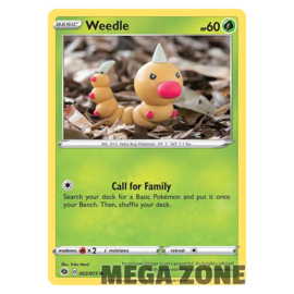 Weedle - 002/073 - Common