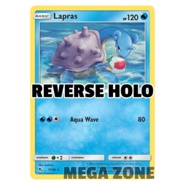 Lapras - 17/68 - Rare - Reverse Holo
