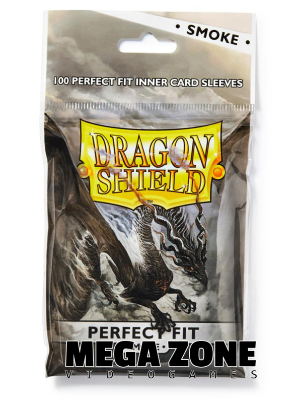 Dragon Shield 100 Perfect fit sleeves (Smoke)