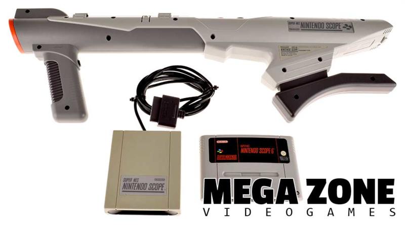 Super NES Nintendo Scope Set