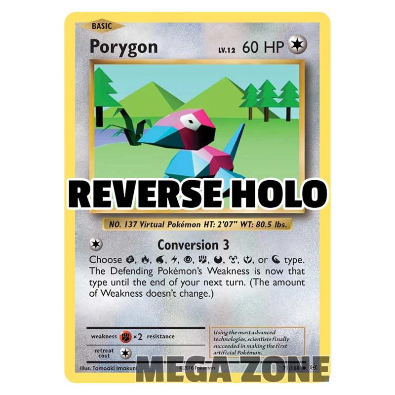 Porygon - 71/108 - Uncommon - Reverse Holo