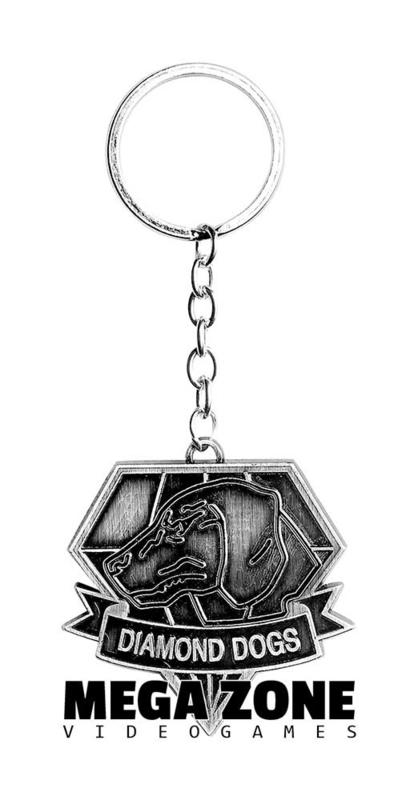MGS5 Diamond Dogs Keychain
