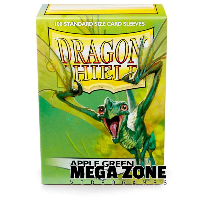 Dragon Shield 100 Standard Matte Sleeves - Apple Green
