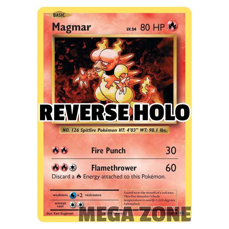 Magmar - 20/108 - Uncommon - Reverse Holo