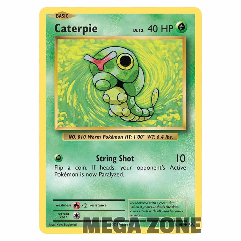 Caterpie - 3/108 - Common