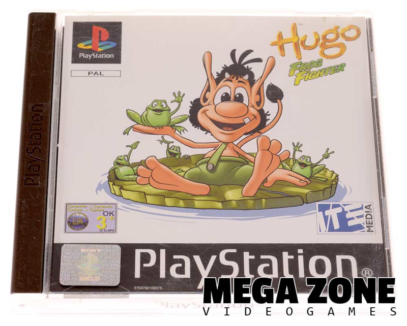 Hugo - Frog Fighter | Sony PlayStation 1 Software | MegaZone