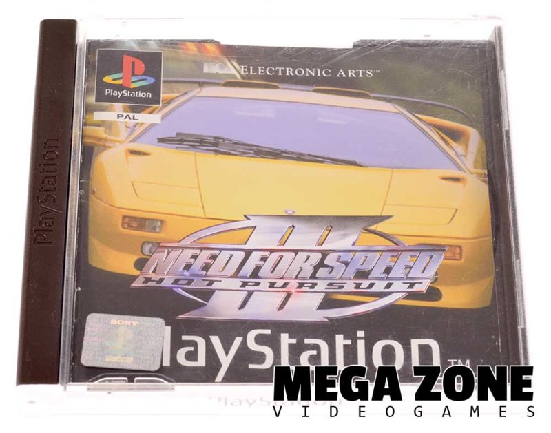 Need For Speed 3 Hot Pursuit Sony Playstation 1 Software Megazone