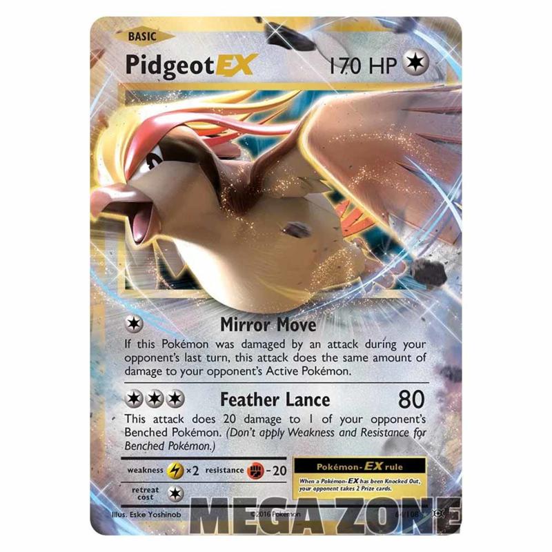 Pidgeot-EX - 64/108 - Ultra Rare