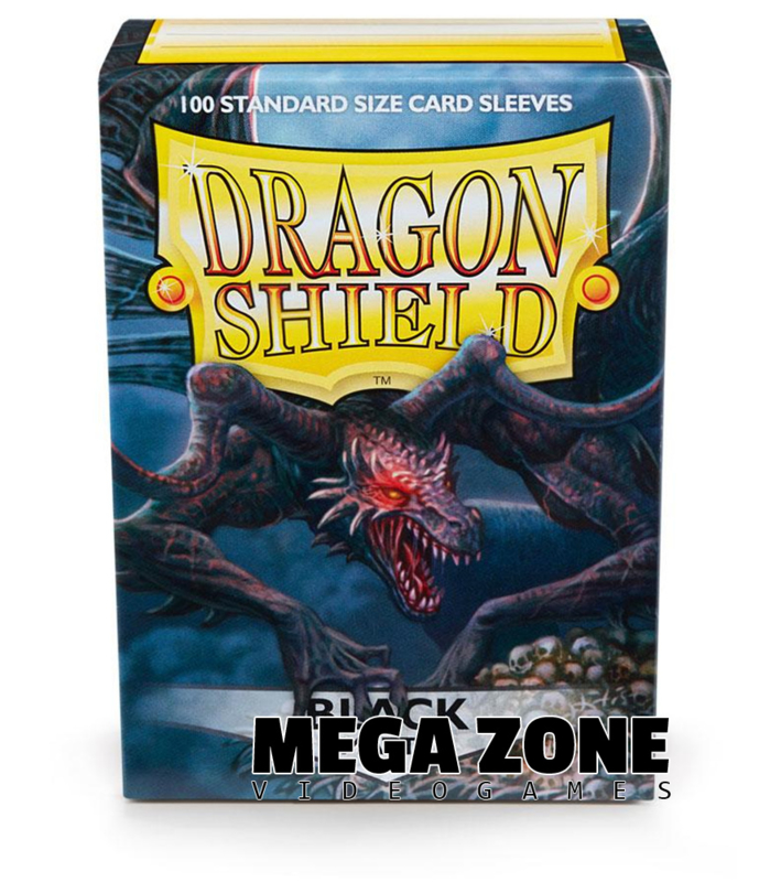 Dragon Shield 100 Standard Matte Sleeves - Black