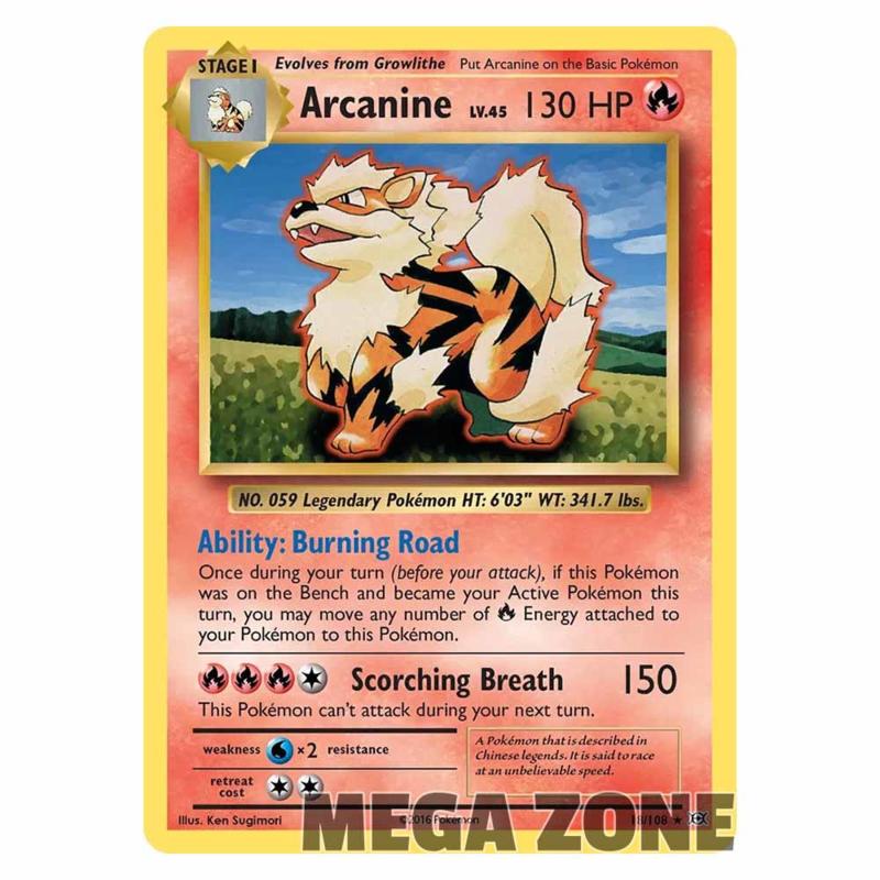 Arcanine - 18/108 - Rare
