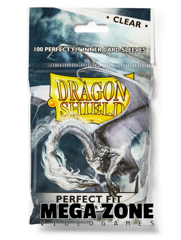 Dragon Shield 100 Perfect fit sleeves (Clear)