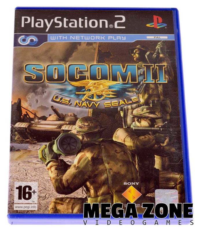 SOCOM II: U S  Navy Seals | Sony PlayStation 2 Software