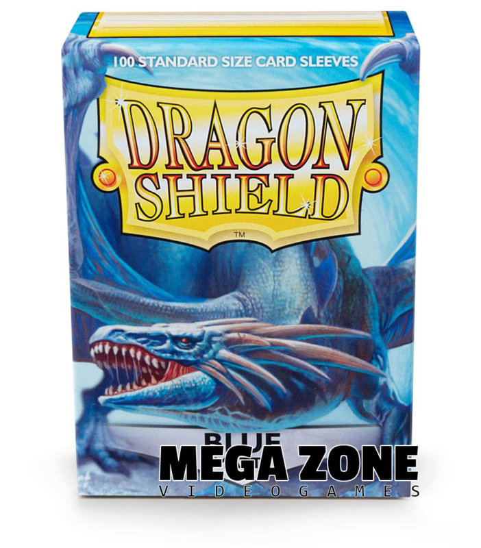 Dragon Shield 100 Standard Matte Sleeves - Blue