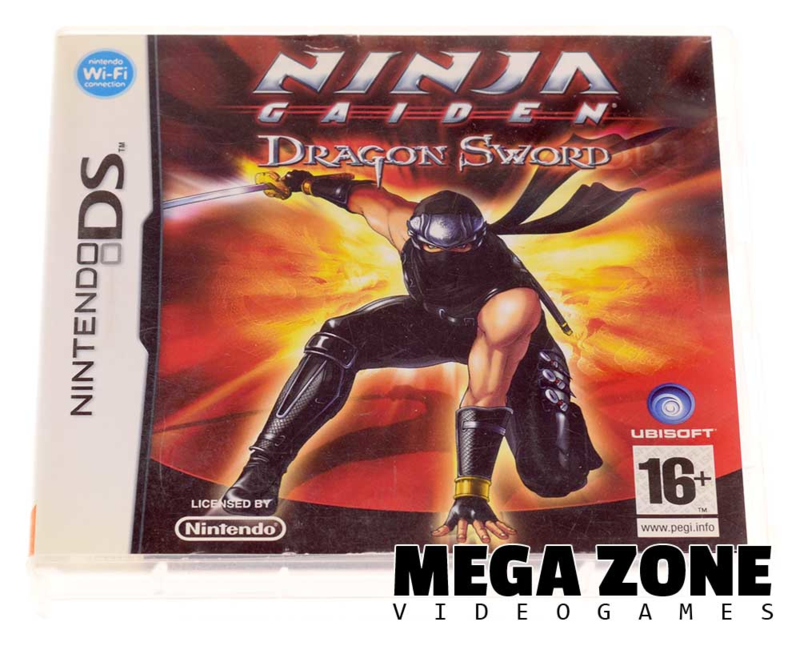 Ninja Gaiden Dragon Sword Nintendo Nintendo Ds Software Megazone