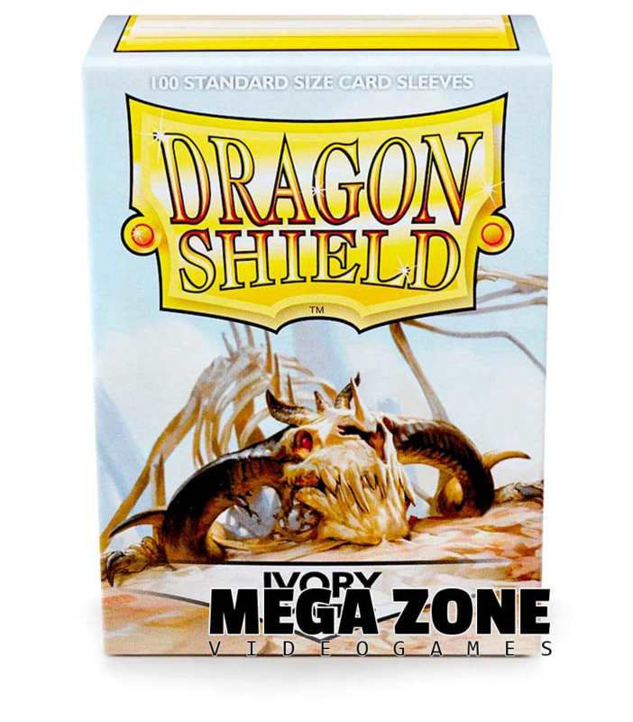 Dragon Shield 100 Standard Matte Sleeves - Ivory
