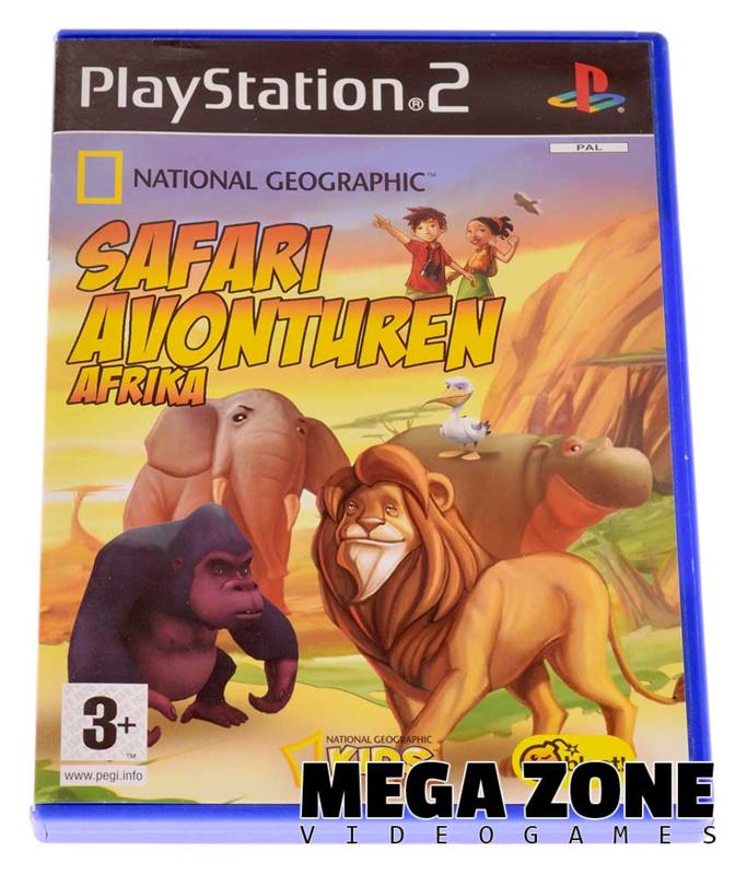 National Geographic Safari Avonturen Afrika (a.k.a. Safari Adventures Africa)