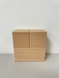 Houten blokken 5 cm