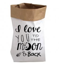 Paper bag XS per stuk (blanco)