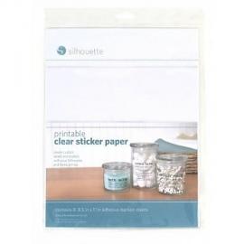 Silhouette printbaar doorzichtig sticker papier