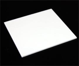 Plexiglas wit