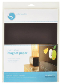 Silhouette Printable Magnet Paper