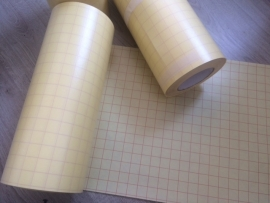 Applicatie tape transparant met drager per meter