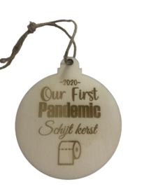 Pandemic schijt kerst