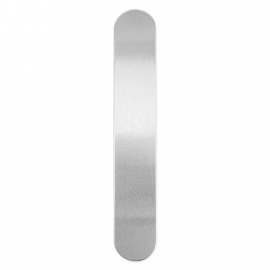 Armband strip aluminium 155 x 25 x 1,7mm