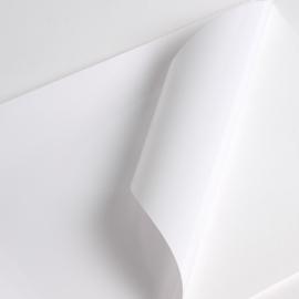 Wit-statische raamfolie 30cm x 1 meter