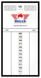 Bull's Glass Scoreboard Basic 60x30cm