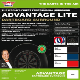 Bull's Dartboard Lite Surround Red