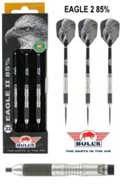 22 gram De Bull's Eagle 2 is een dartset met barrels van 85% Tungsten