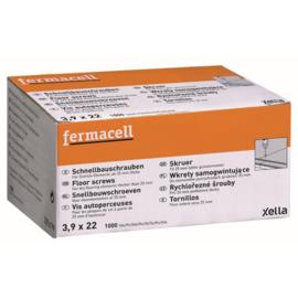 Fermacell schroef 3.9 x 22 mm 1.000 stuks