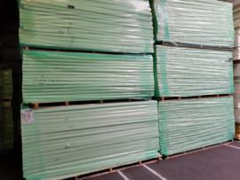 PIR ALU kraft Isolatieplaat 40mm 2500x1200 (Prijs per plaat)