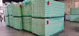 PIR ALU isolatieplaat 110mm 2500x1200 (Prijs per plaat)