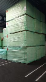 PIR ALU Kraft Isolatieplaat 60mm 2500x1200 (Prijs per plaat)