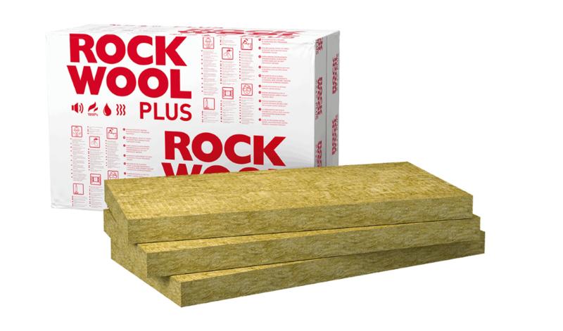 Rockwool Plus Steenwol platen 50mm (Prijs per pak)