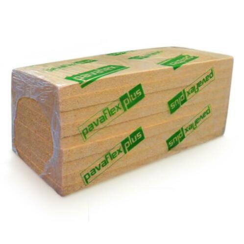 Pavaflex PLUS houtvezel plaat 120mm