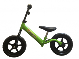 """Pex Kids kinderscooter loopfiets 12"""" groen"""