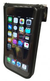 Fietstelefoonhoes/tasje Aheadcap montage 148x75mm Zw.