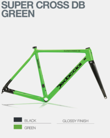 Cross Super cross green DiscBrake