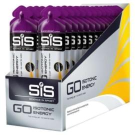 SIS Go Isotonic Gel Blackcurrent - Doos 30 stuks