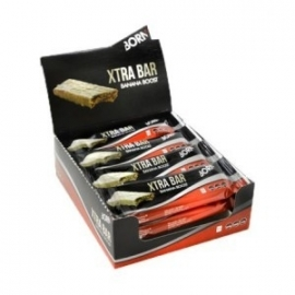 Born Xtra Bar Banana - doos 12 stuks